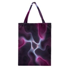 Colorful Fractal Background Classic Tote Bag by Simbadda