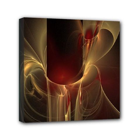 Fractal Image Mini Canvas 6  X 6  by Simbadda