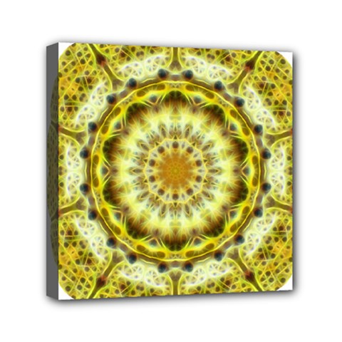 Fractal Flower Mini Canvas 6  X 6  by Simbadda