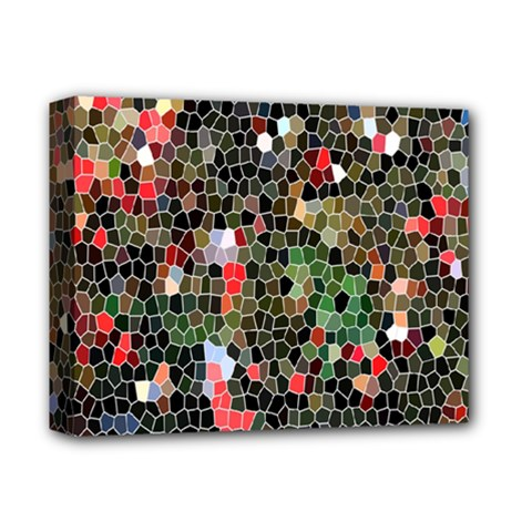 Colorful Abstract Background Deluxe Canvas 14  X 11  by Simbadda