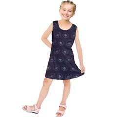 Floral Pattern Kids  Tunic Dress by Valentinaart