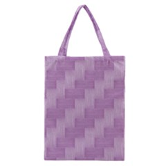 Purple Pattern Classic Tote Bag by Valentinaart