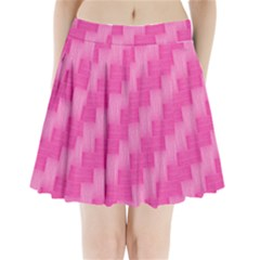 Pink Pattern Pleated Mini Skirt by Valentinaart