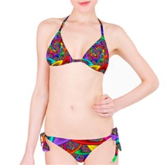 Color Spiral Bikini Set by Simbadda