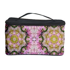 Floral Pattern Seamless Wallpaper Cosmetic Storage Case by Simbadda