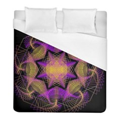 Pattern Design Geometric Decoration Duvet Cover (full/ Double Size) by Simbadda