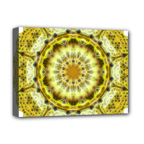 Fractal Flower Deluxe Canvas 16  X 12   by Simbadda