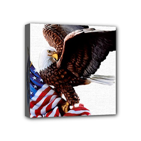 Independence Day United States Mini Canvas 4  X 4  by Simbadda