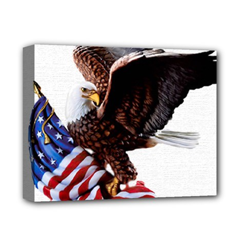 Independence Day United States Deluxe Canvas 14  X 11  by Simbadda