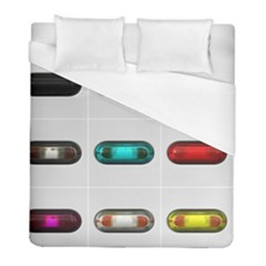 9 Power Button Duvet Cover (full/ Double Size)