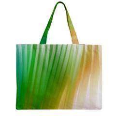 Folded Paint Texture Background Medium Zipper Tote Bag by Simbadda