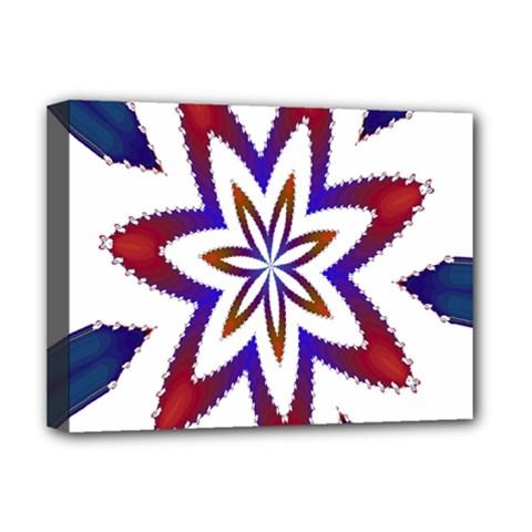Fractal Flower Deluxe Canvas 16  x 12
