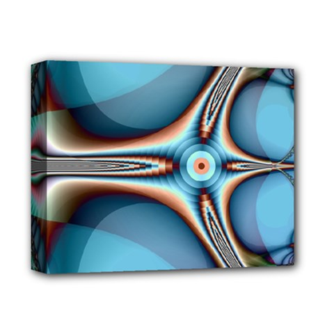 Fractal Beauty Deluxe Canvas 14  X 11  by Simbadda