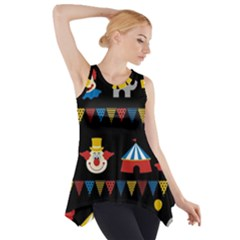 Circus  Side Drop Tank Tunic by Valentinaart