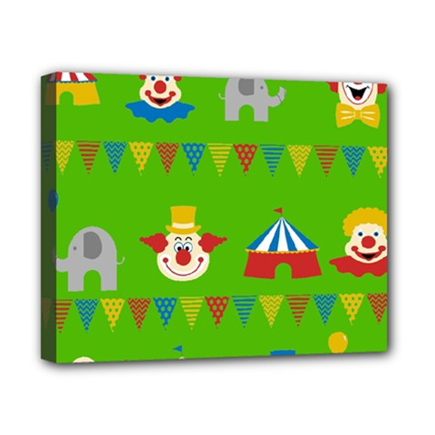 Circus Canvas 10  X 8  by Valentinaart