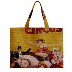 Vintage Circus  Zipper Mini Tote Bag by Valentinaart