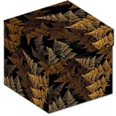 Fractal Fern Storage Stool 12   by Simbadda