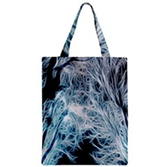 Fractal Forest Zipper Classic Tote Bag by Simbadda
