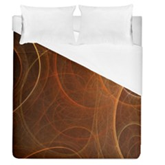 Fractal Color Lines Duvet Cover (queen Size) by Simbadda