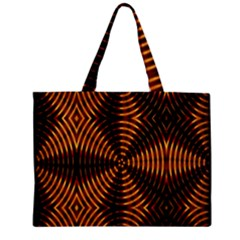 Fractal Patterns Zipper Mini Tote Bag by Simbadda