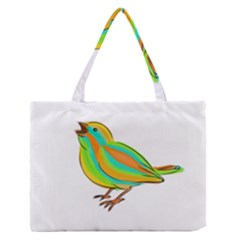 Bird Medium Zipper Tote Bag by Valentinaart
