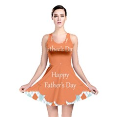 Happy Father Day  Reversible Skater Dress