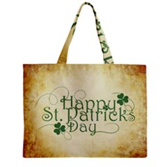 Irish St Patrick S Day Ireland Zipper Mini Tote Bag by Simbadda