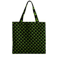 St Patrick S Day Background Zipper Grocery Tote Bag by Simbadda