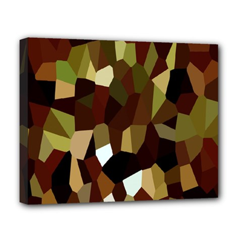 Crystallize Background Deluxe Canvas 20  X 16   by Simbadda
