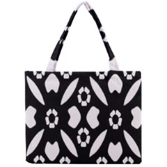 Abstract Background Pattern Mini Tote Bag by Simbadda