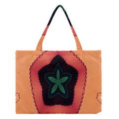 Fractal Flower Medium Tote Bag by Simbadda