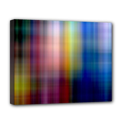 Colorful Abstract Background Deluxe Canvas 20  X 16   by Simbadda