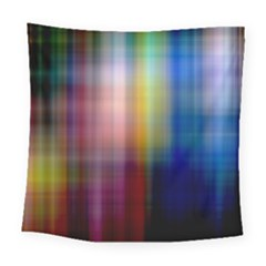 Colorful Abstract Background Square Tapestry (large)