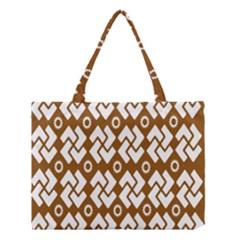 Art Abstract Background Pattern Medium Tote Bag by Simbadda