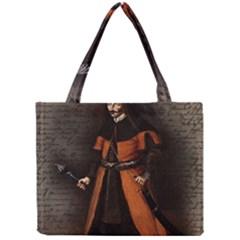 Count Vlad Dracula Mini Tote Bag by Valentinaart
