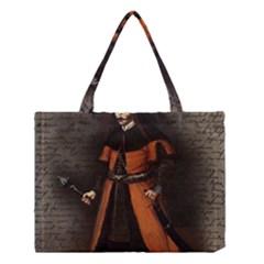 Count Vlad Dracula Medium Tote Bag by Valentinaart