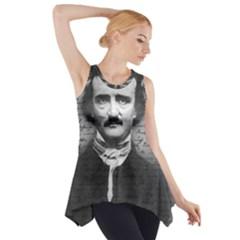 Edgar Allan Poe  Side Drop Tank Tunic by Valentinaart
