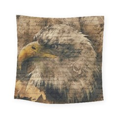 Vintage Eagle  Square Tapestry (small) by Valentinaart