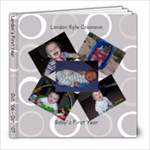 Landon s First Year - 8x8 Photo Book (30 pages)