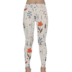 Seamless Floral Patterns  Classic Yoga Leggings by TastefulDesigns