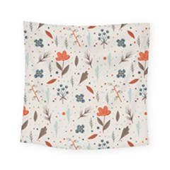 Seamless Floral Patterns  Square Tapestry (small) by TastefulDesigns
