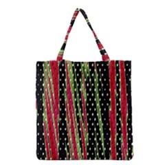 Alien Animal Skin Pattern Grocery Tote Bag by Simbadda