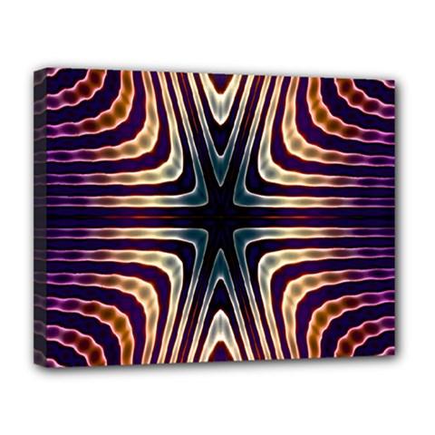 Colorful Seamless Vibrant Pattern Canvas 14  X 11  by Simbadda