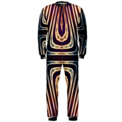 Colorful Seamless Vibrant Pattern OnePiece Jumpsuit (Men)  by Simbadda
