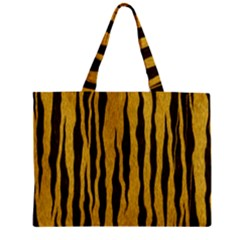 Seamless Fur Pattern Zipper Mini Tote Bag by Simbadda