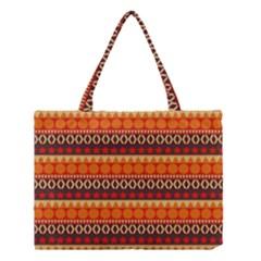 Abstract Lines Seamless Pattern Medium Tote Bag by Simbadda