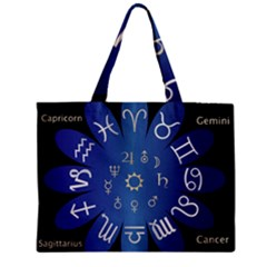 Astrology Birth Signs Chart Zipper Mini Tote Bag by Amaryn4rt