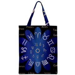 Astrology Birth Signs Chart Zipper Classic Tote Bag by Amaryn4rt
