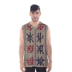 Ancient Chinese Secrets Characters Men s Basketball Tank Top by Amaryn4rt
