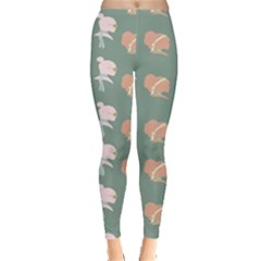 Lifestyle Repeat Girl Woman Female Leggings  by Alisyart